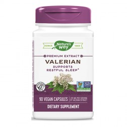 Nature's Way Valerian / Валериана 525 мг. 90 вегетариански капсули