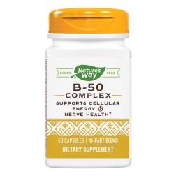Nature`s Way B-50 Complex / Витамин В-50 Комплекс 60 капсули