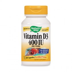 Nature's Way Vitamin D-400 / Витамин D 400 IU 100 капсули