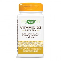 Nature's Way Vitamin D3 / Витамин D3 400 IU 100 капсули