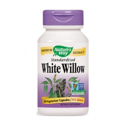 Nature's Way White Willow / Бяла върба 450 мг. 60 вегетариански капсули