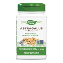 Nature's Way Astragalus / Астрагал 470 мг. 100 вегетариански капсули