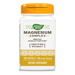 Nature's Way Magnesium Complex / Магнезиев комплекс 250 мг. 100 капсули