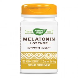 Nature's Way Melatonin / Мелатонин 2,5 мг. 100 таблетки с глазура