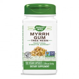 Nature's Way Myrrh Gum / Смирна 550 мг. 100 вегетариански капсули