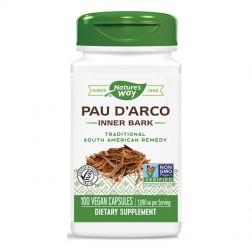 Nature's Way Pau d'Arco / Мравчено дърво/Пау Д`Арко 545 мг. 100 вегетариански капсули