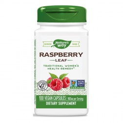 Nature's Way Red Raspberry / Малина (листа) 450 мг. 100 вегетариански капсули