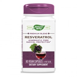 Nature's Way Resveratrol / Ресвератрол 325 мг. 60 вегетариански капсули