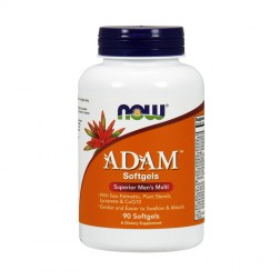 NOW Foods ADAM Men's Multiple Vitamin 90 дражета
