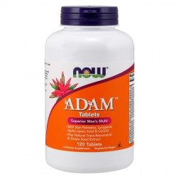 NOW Foods ADAM Men`s Vitamins 120 таблетки