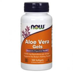 NOW Foods Aloe Vera 10000 мг. 100 дражета