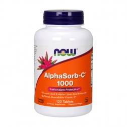 NOW Foods AlphaSorb-C 1000 мг. 120 таблетки
