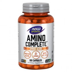 NOW Foods Amino Complete 850 мг. 120 капсули