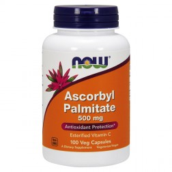 NOW Foods Ascorbyl Palmitate / Аскорбил Палмитат 500 мг. 100 вегетариански капсули