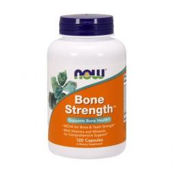 NOW Foods Bone Strength / Микрокристален хидроксиапатит за костите и зъбите 120 капсули