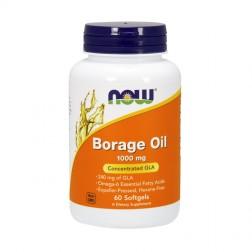 NOW Foods Borage Oil / Масло от пореч с гама-линоленова киселина 1000 мг. 60 дражета