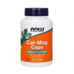 NOW Foods CAL-MAG / Калций и магнезий с витамин D и др. микроелементи 120 капсули