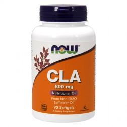 NOW Foods CLA / Свързана линоленова киселина 800 мг. 90 дражета