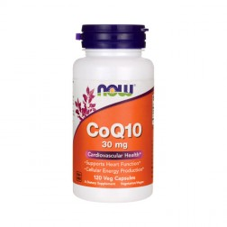 NOW Foods CoQ10 / Коензим Q10 30 мг. 120 вегетариански капсули