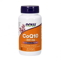 NOW Foods CoQ10 / Коензим Q10 400 мг. 30 дражета