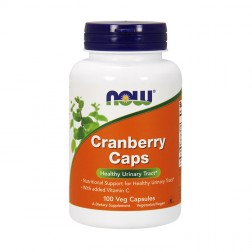 NOW Foods Cranberry Concentrate / Червена боровинка концентрат 700 мг. 100 капсули