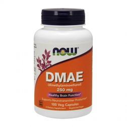 NOW Foods DMAE / Диметиламиноетанол 250 мг. 100 вегетариански капсули