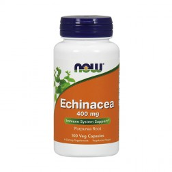 NOW Foods Echinacea / Ехинацея 400 мг. 100 капсули