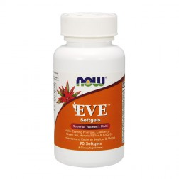 NOW Foods EVE Woman`s Multi 90 дражета