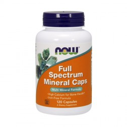 NOW Foods Full Spectrum Mineral Caps 120 капсули