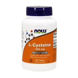 NOW Foods L-Cysteine / Цистеин 500 мг. 100 таблетки