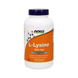 NOW Foods L-Lysine / Лизин 500 мг. 250 капсули