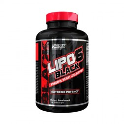 Nutrex Research LIPO-6 BLACK EXTREME POTENCY 120 капсули (40 дози)