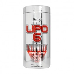 Nutrex Research Lipo-6 Unlimited 120 ликвид капсули
