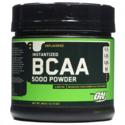 Optimum Nutrition BCAA 5000 345 гр.