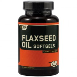 Optimum Nutrition Flaxseed Oil / Ленено масло 100 софтгел капсули