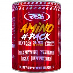 Real Pharm Amino Pack / Амино Пак 30 сашета х 10 таблетки (30 дози)