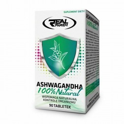 Real Pharm Ashwagandha / Ашваганда 300 мг. 90 таблетки (90 дози)