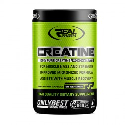 Real Pharm Creatine Mono 300 капсули (150 дози)
