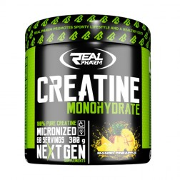 Real Pharm Creatine Monohydrate 300 гр. (60 дози)
