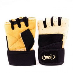 Фитнес ръкавици с накитници Real Pharm Grip Solution