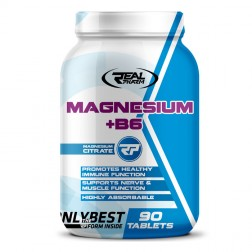 Real Pharm Magnesium + B6 1350 мг. 90 таблетки (90 дози)