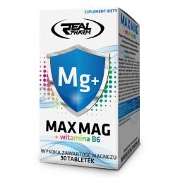 Real Pharm Max Mag + B6 / Максимум магнезий + витамин В6 90 таблетки (90 дози)
