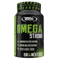Real Pharm Omega Strong 60 софтгел капсули (30 дози)