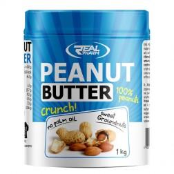 Real Pharm Peanut Butter Crunch / Натурално фъстъчено масло 1000 гр.