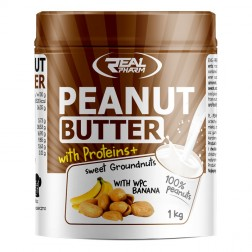 Real Pharm Peanut Butter with Proteins + 1000 гр.