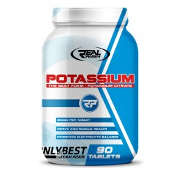 Real Pharm Potassium 1400 мг. 90 таблетки (90 дози)