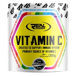 Real Pharm Vitamin C Powder 200 гр. (200 дози)