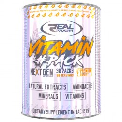 Real Pharm Vitamin Pack / Витамин Пак 30 сашета х 8 таблетки + 1 софтгел капсула (30 дози)