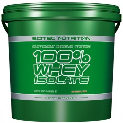 Scitec Nutrition 100% Whey Isolate 4000 гр. (160 дози)