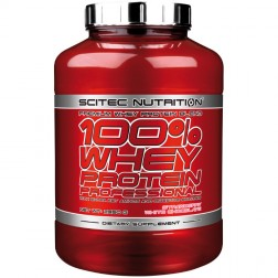 Scitec Nutrition 100% Whey Protein Professional 2350 гр. (78 дози)